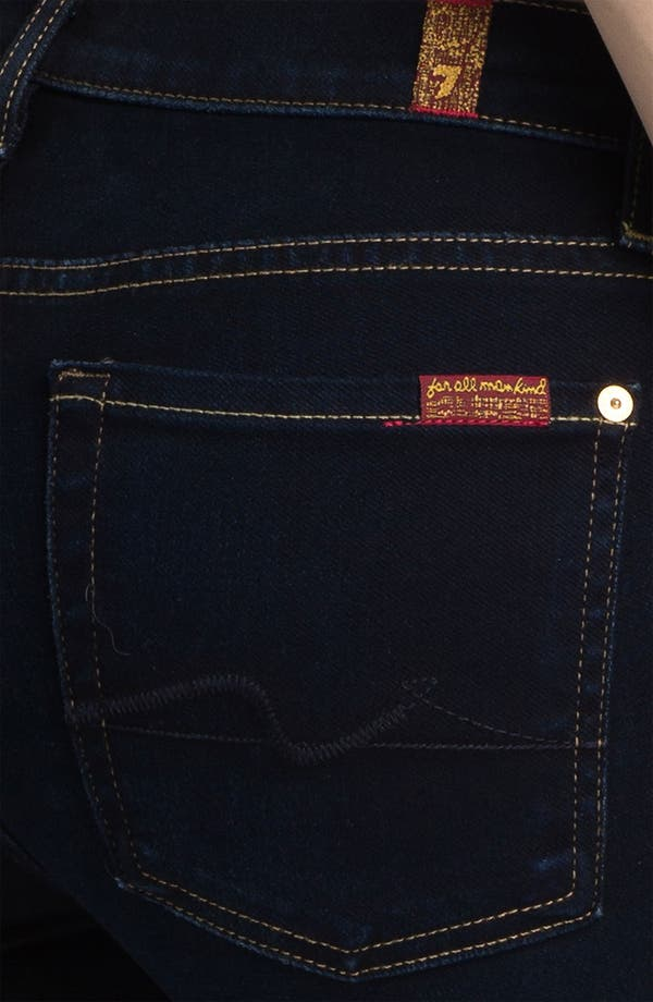 Alternate Image 3  - 7 For All Mankind® 'Roxanne' Skinny Stretch Jeans (Illustrious Blue)