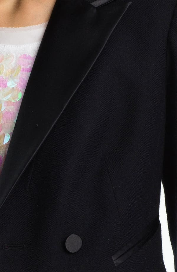 Alternate Image 5  - Juicy Couture Convertible Tuxedo Tail Jacket