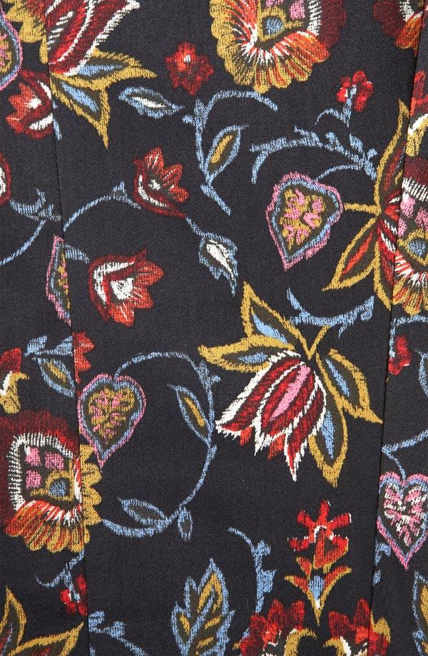 Alternate Image 3  - Topshop Tapestry Print Skinny Pants (Petite)