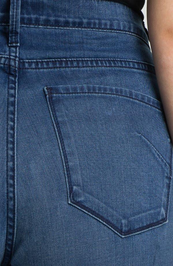 Alternate Image 3  - James Jeans Broken In High Rise Flare Leg Jeans (Plus)