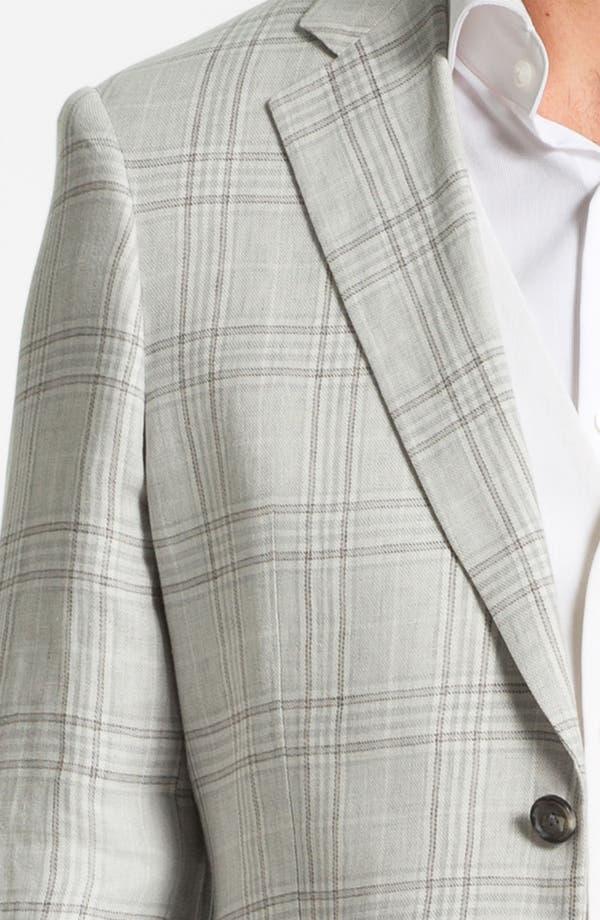 Alternate Image 3  - John W. Nordstrom® Linen Plaid Sportcoat