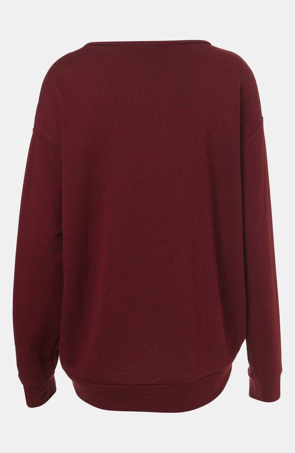 Alternate Image 2  - Topshop Slouchy Sweatshirt