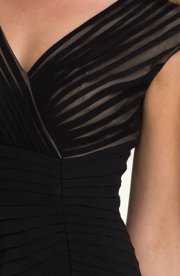 Alternate Image 3  - Adrianna Papell Side Seam Pleated Sheath Dress (Petite)