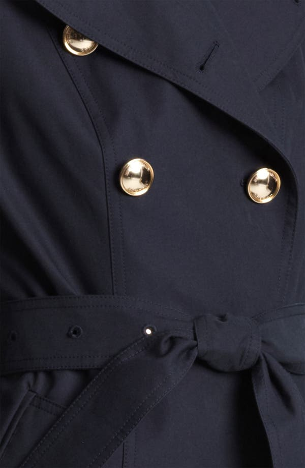 Alternate Image 3  - Burberry London Gold Button Trench Coat