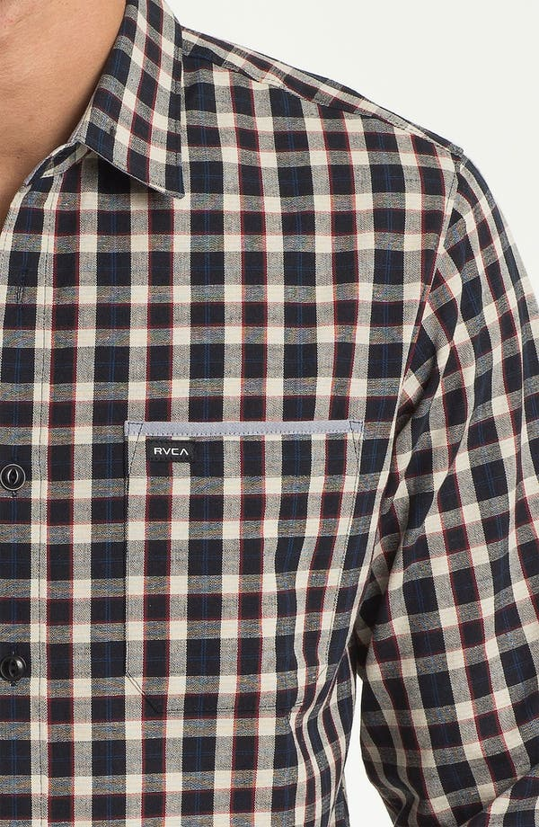 Alternate Image 3  - RVCA 'Portman' Woven Shirt