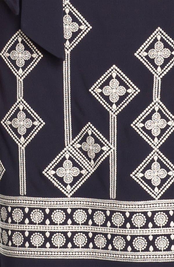 Alternate Image 3  - Tory Burch 'Reena' Embroidered Wrap Dress
