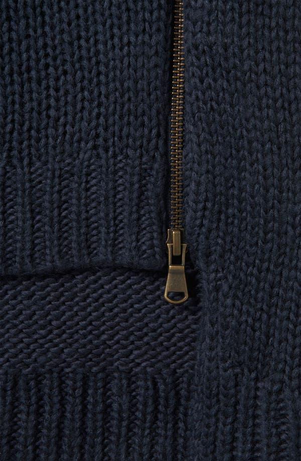 Alternate Image 3  - Topshop Zip Hem Sweater