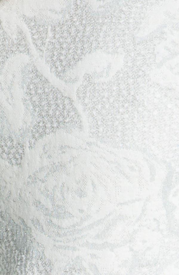 Alternate Image 5  - St. John Collection Floral Jacquard Knit Blazer