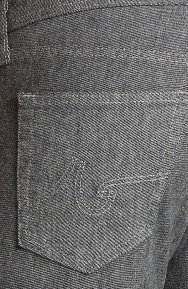 Alternate Image 4  - AG Jeans 'Matchbox' Slim Straight Leg Jeans (Tweed Grey)