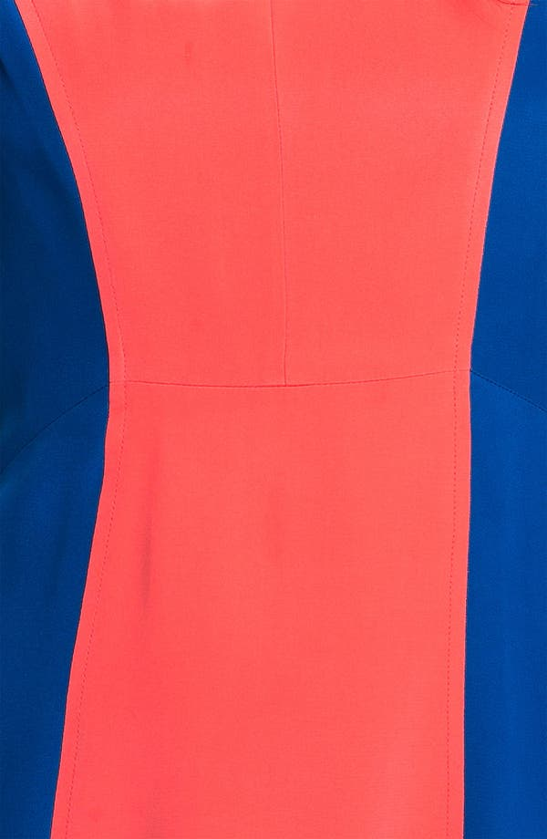 Alternate Image 3  - Rebecca Minkoff 'Katya' Colorblock Silk Dress