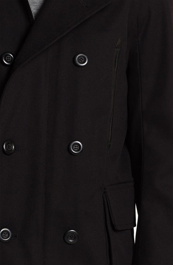 Alternate Image 3  - PLECTRUM by Ben Sherman Twill Peacoat