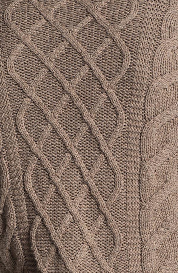 Alternate Image 3  - Original Penguin Cable Knit Sweater