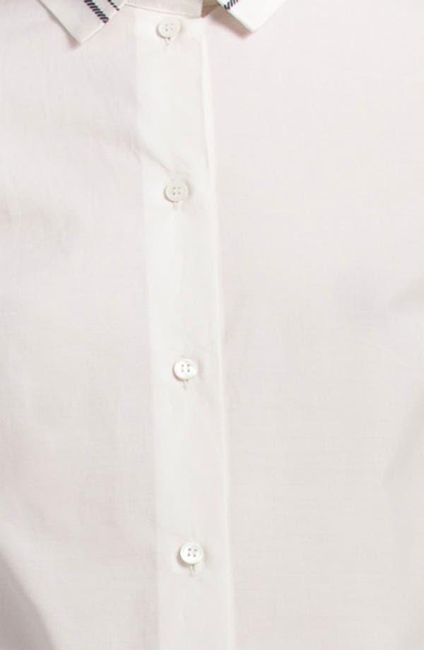 Alternate Image 3  - Jil Sander Navy Stripe Collar Shirt
