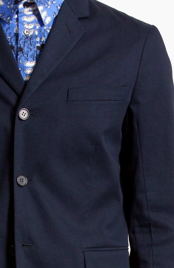 Alternate Image 3  - Marni Three Button Cotton Twill Blazer