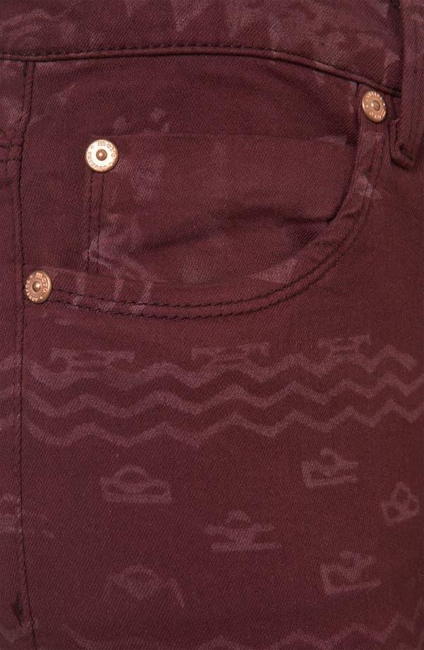Alternate Image 3  - Topshop Moto 'Leigh' Andean Print Skinny Jeans