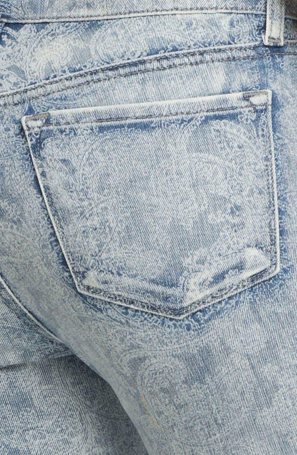 Alternate Image 3  - J Brand Print Skinny Leg Jeans (Vintage Bandana)