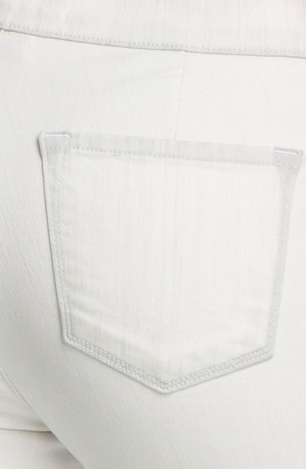 Alternate Image 3  - J Brand 'Kera' Tuxedo Stripe Skinny Jeans (Iceberg)
