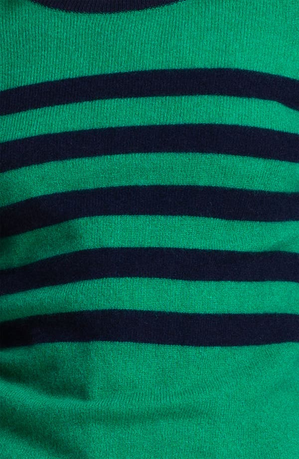 Alternate Image 4  - Only Mine Stripe Cashmere Sweater (Petite)