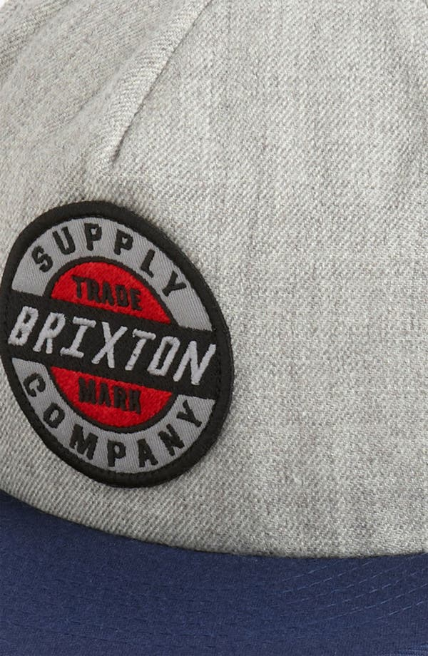 Alternate Image 2  - Brixton 'Council' Snapback Baseball Cap