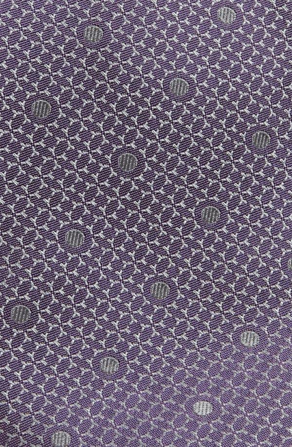 Alternate Image 2  - Yves Saint Laurent Dot Woven Silk Tie