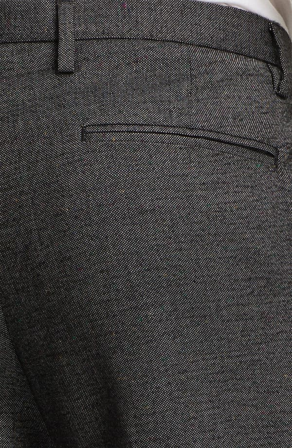 Alternate Image 3  - Topman Fleck Skinny Fit Trousers