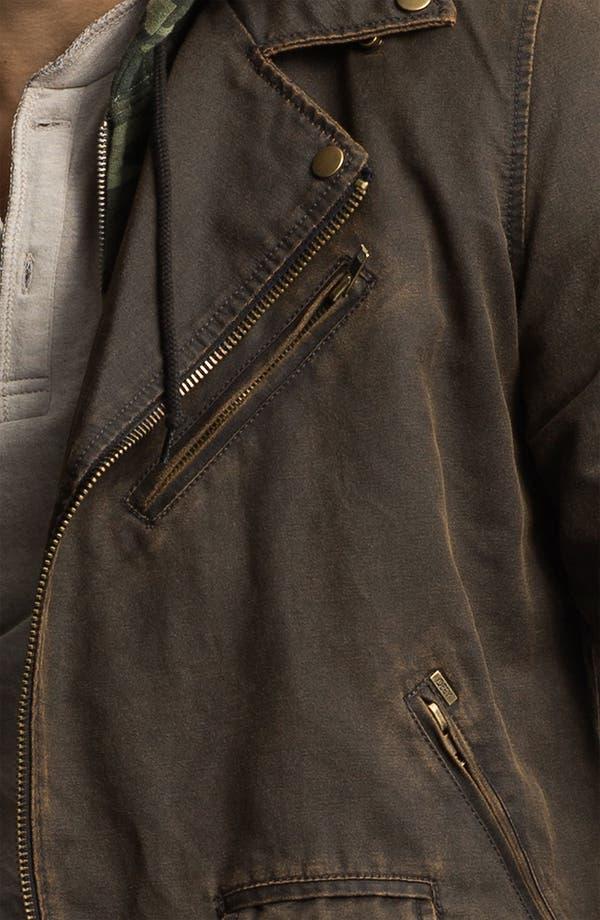 Alternate Image 3  - Obey Coated Moto Jacket