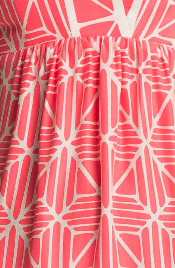 Alternate Image 3  - ALICE & TRIXIE 'Olivia' Strapless Printed Silk Maxi Dress