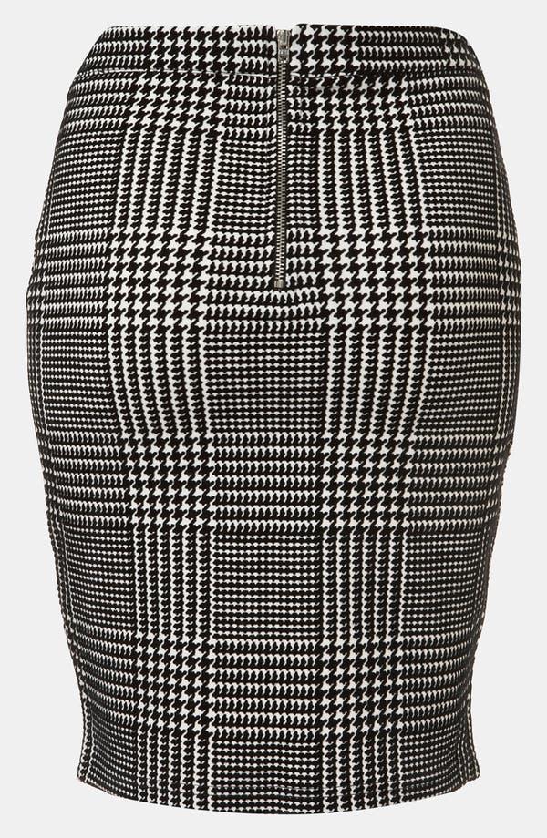 Alternate Image 2  - Topshop Houndstooth Check Pencil Skirt