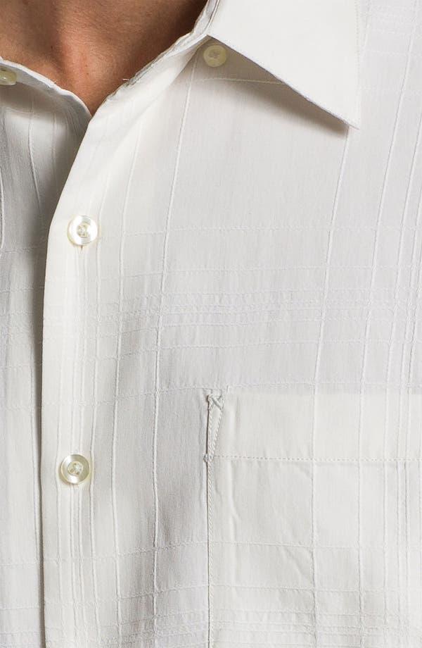 Alternate Image 3  - Tommy Bahama 'Skyscraper' Silk Sport Shirt (Big & Tall)