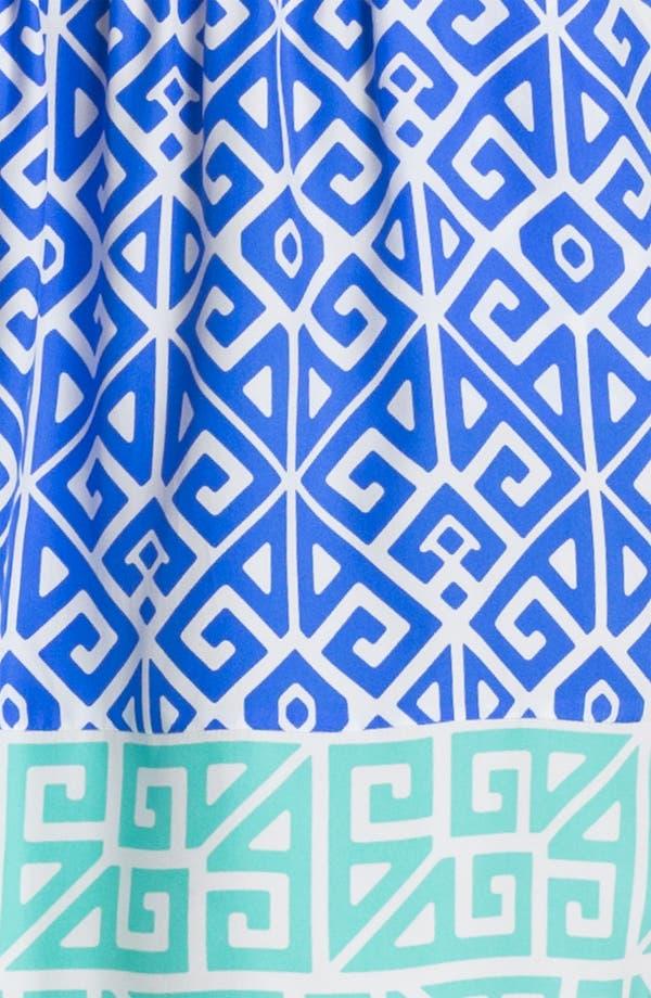 Alternate Image 3  - ALICE & TRIXIE 'Jun' Printed Silk Blouson Dress