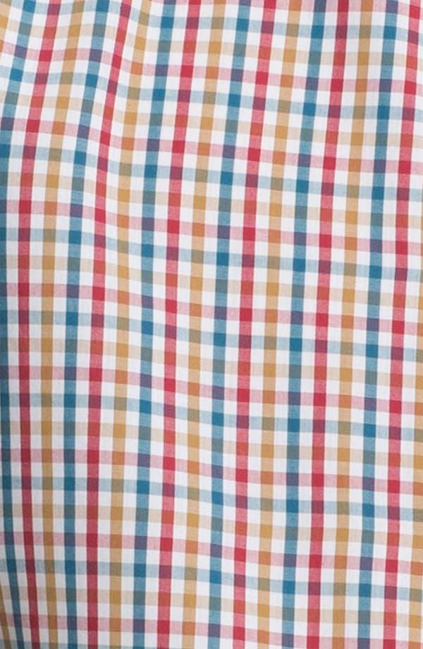 Alternate Image 3  - Topman Gingham Woven Shirt