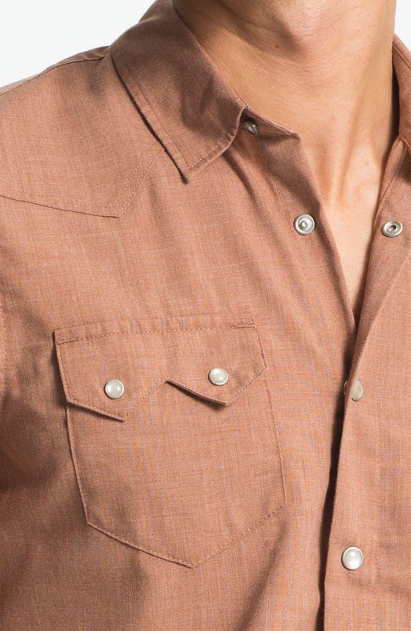 Alternate Image 3  - 55DSL 'Saloon' Woven Western Shirt