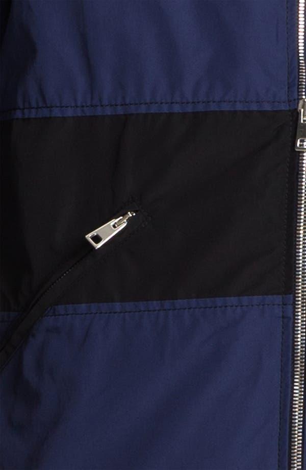 Alternate Image 3  - U Clothing 'Kai' Raglan Bomber Jacket