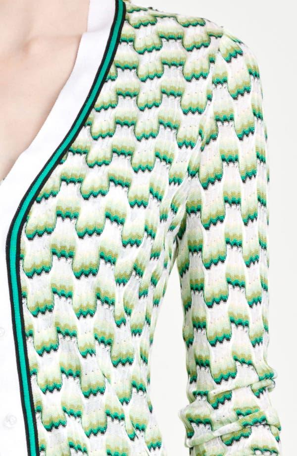Alternate Image 5  - Missoni Square Stitch Dégradé Cardigan