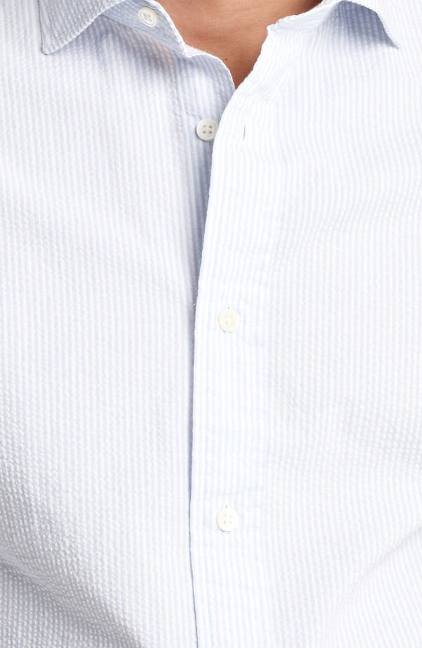 Alternate Image 3  - Jack Spade 'Trombo' Seersucker Stripe Shirt