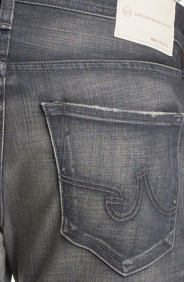 Alternate Image 4  - AG 'Matchbox' Slim Fit Jeans (6 Year Destroyed)