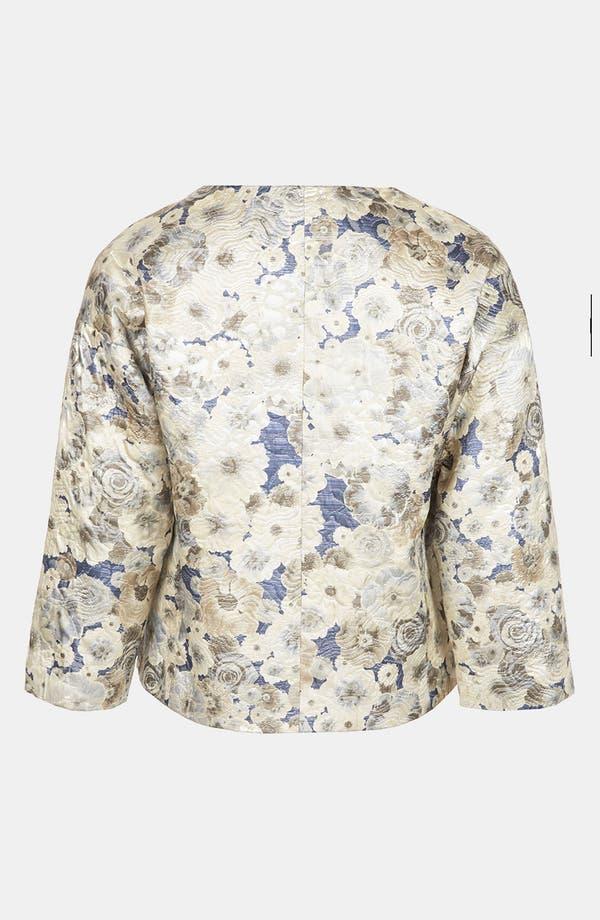 Alternate Image 2  - Topshop Floral Jacquard Jacket