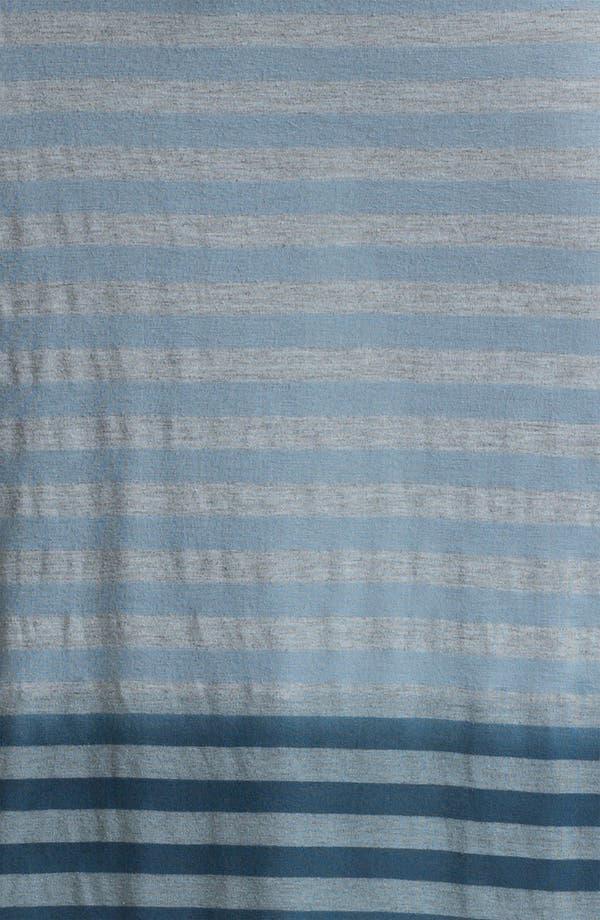 Alternate Image 3  - Allen Allen Ombré Stripe Tube Skirt