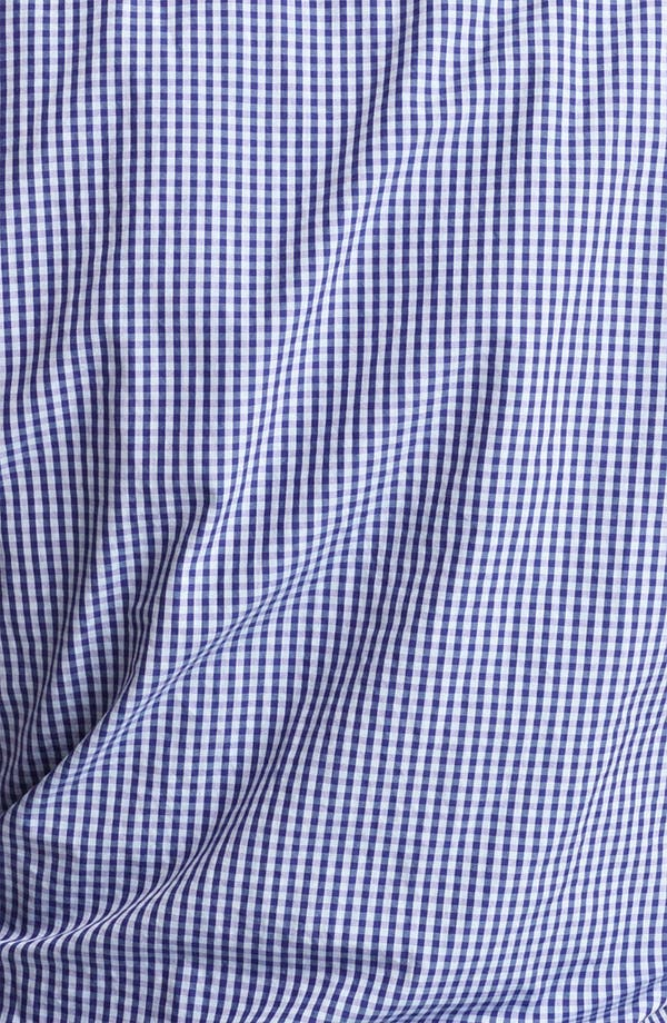 Alternate Image 3  - Armani Collezioni Gingham Sport Shirt