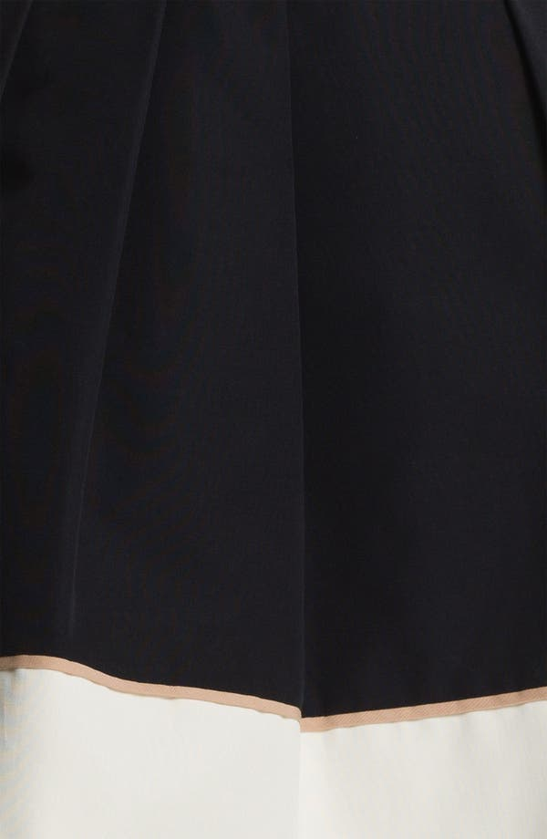 Alternate Image 5  - Miss Wu Hem Detail Faille Skirt (Nordstrom Exclusive)