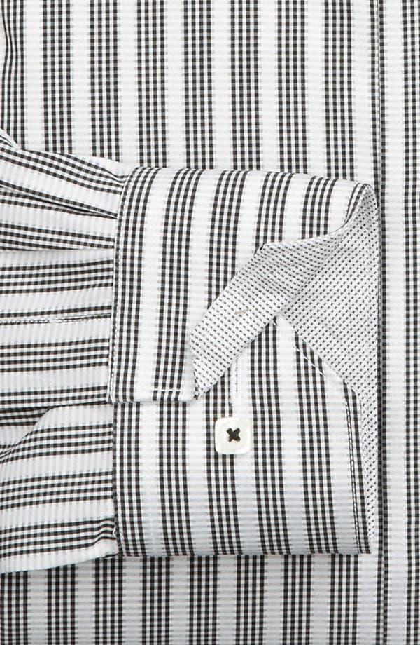 Alternate Image 6  - Bugatchi Uomo Shaped Fit Sport Shirt