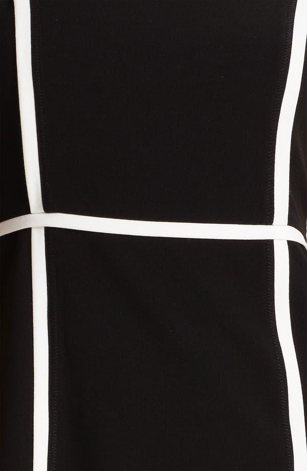Alternate Image 3  - Calvin Klein Contrast Trim Sheath Dress
