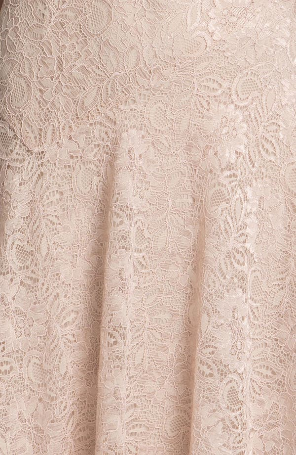 Alternate Image 3  - Adrianna Papell Cowl Neck Lace Dress