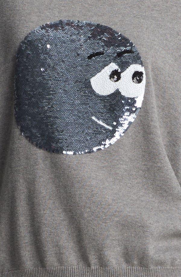 Alternate Image 5  - Markus Lupfer Sequin Cartoon Face Sweater