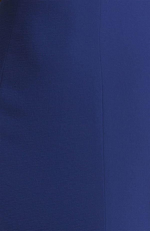 Alternate Image 3  - BCBGMAXAZRIA Lace Yoke Crepe Gown