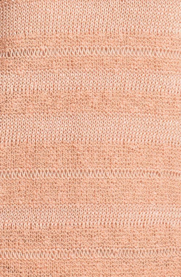 Alternate Image 3  - Trouvé Sheer Stripe Slub Sweater