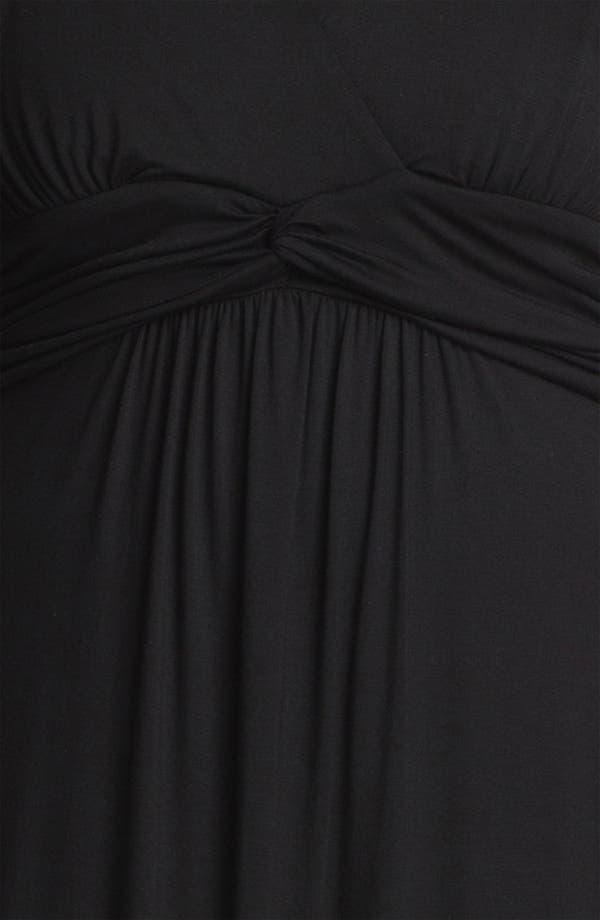 Alternate Image 3  - Karen Kane Front Twist Sleeveless Maxi Dress (Plus Size) (Online Only)