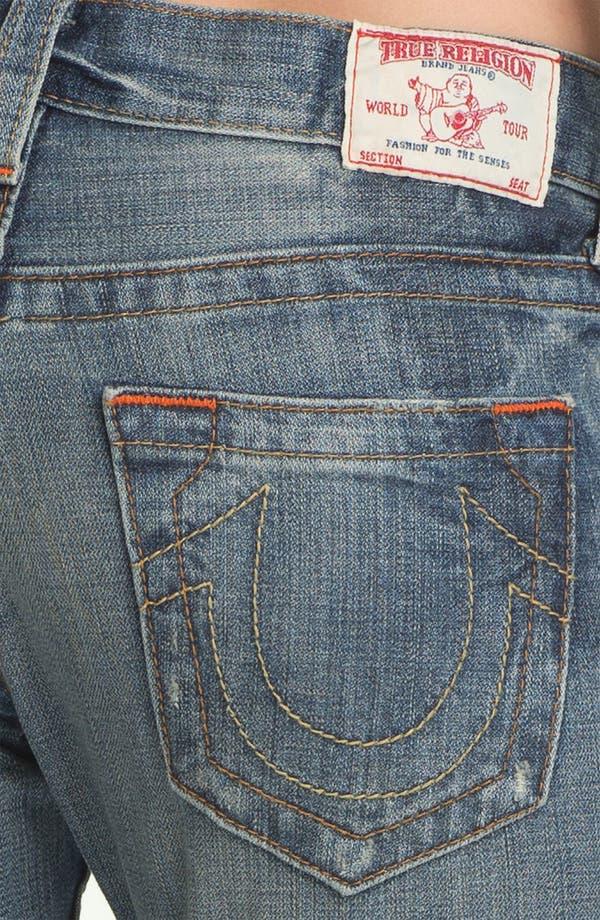 Alternate Image 3  - True Religion Brand Jeans 'Brianna' Boyfriend Jeans (Black Water)