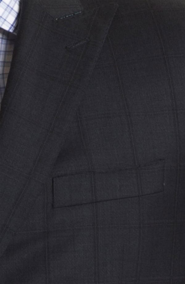 Alternate Image 2  - English Laundry Trim Fit Double Breasted Suit (Online Only)