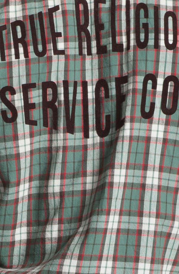Alternate Image 3  - True Religion Brand Jeans 'Service' Plaid Flannel Shirt